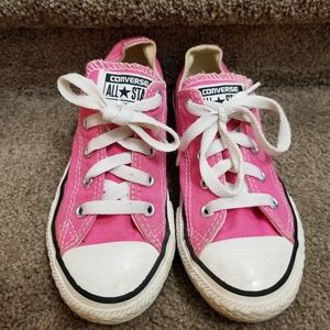 2 for $20! Solid pink Converse